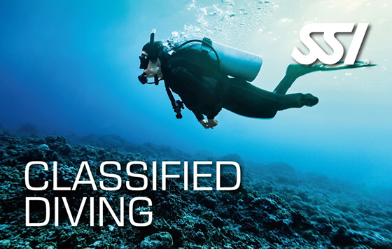 Classified diving